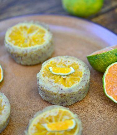recette de petits gâteaux à la mandarine satsuma