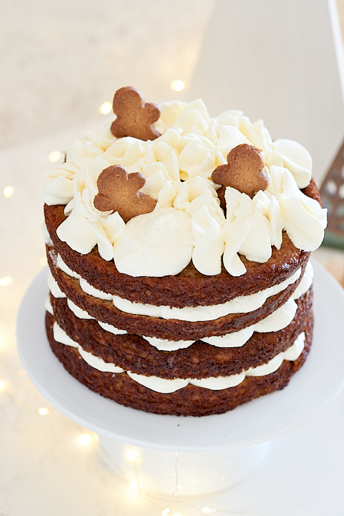 layer cake pommes epices