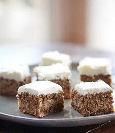 recette d'apple cake aux noix et creamcheese