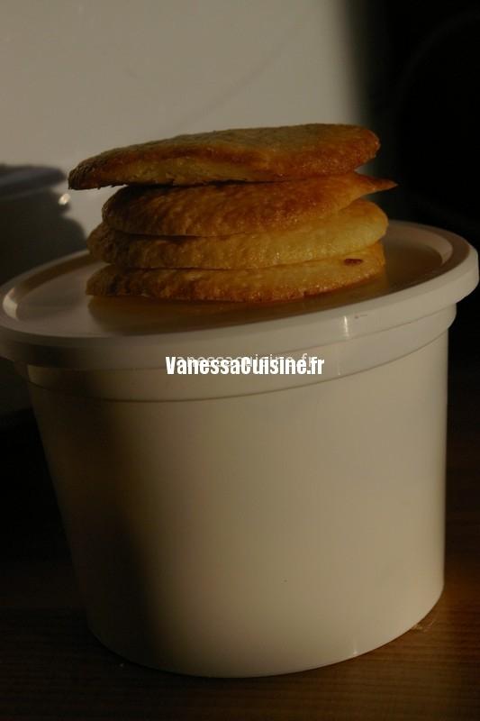 recette Les biscuits à la crème de Lilou