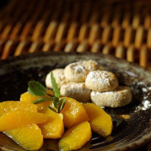 recette de biscuits à la fleur d'oranger