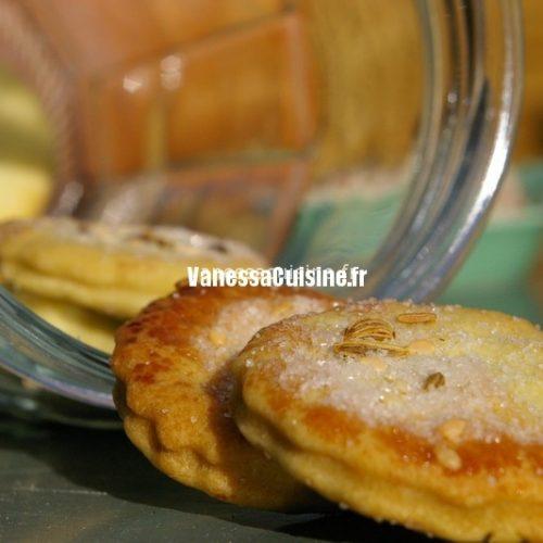 recette de Biscuits à l'huile d'olive, fenouil et sésame, zeste d'orange