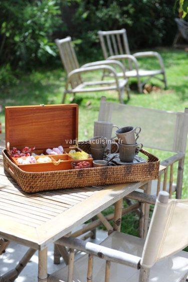 photo culinaire de boîte à café gourmand
