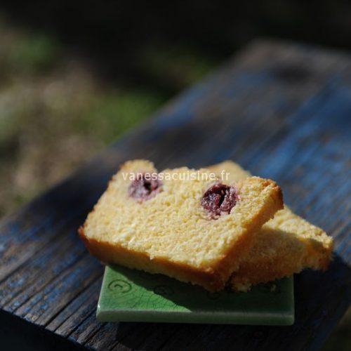 Cake polenta citron et coco