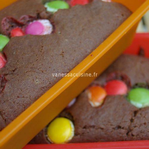 recette de petits cakes au chocolat au lait et smarties