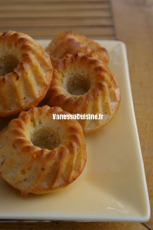 recette de Cakes à la confiture de citron et gingembre