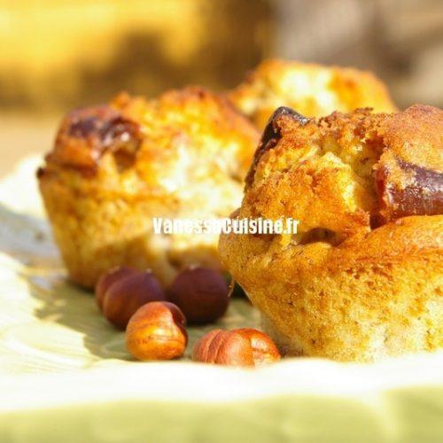 recette de petits cakes aux dattes et banane