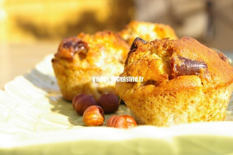 recette de Petits cakes dattes et banane