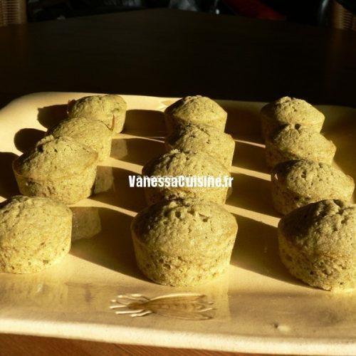 recette de mini cakes au thé vert