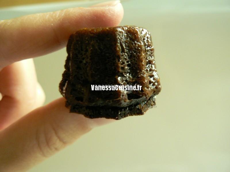 recette de Canelés au chocolat