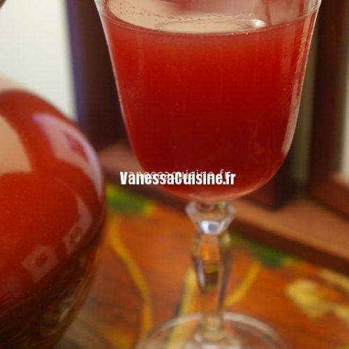 recette de cocktail vermillon
