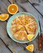 recette de crêpes Suzette sans gluten