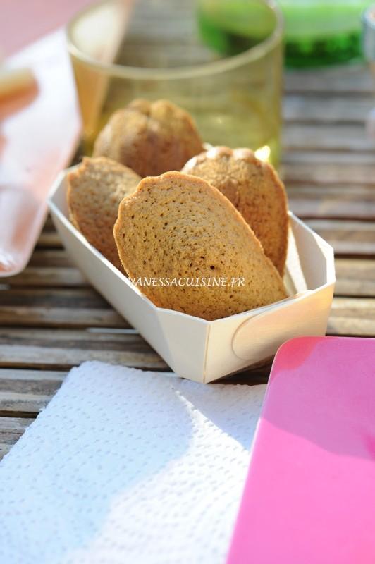 recette de Madeleines au sarrasin
