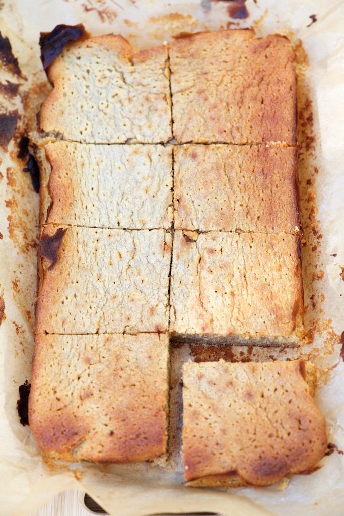 recette de Moelleux au chocolat blanc et à la châtaigne