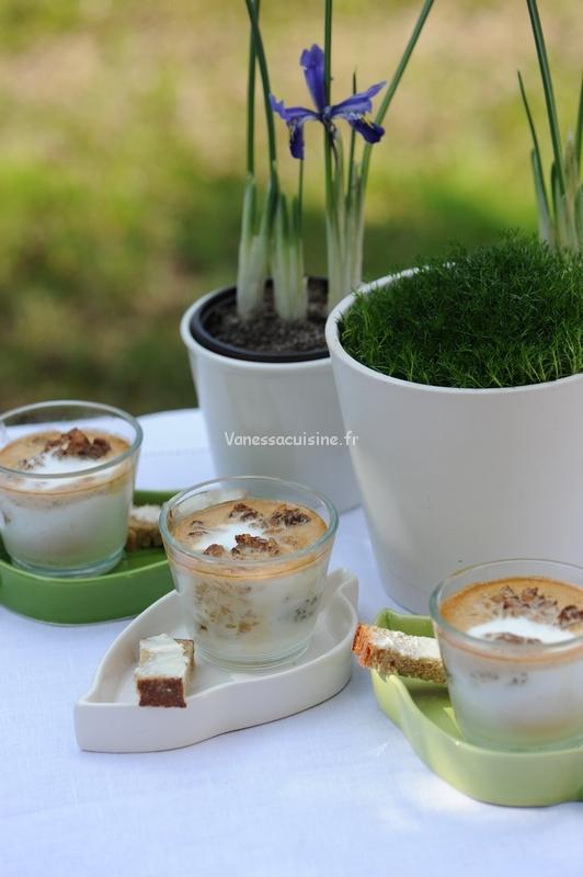 Photo culinaire d'Oeufs cocotte aux morilles et à la crème