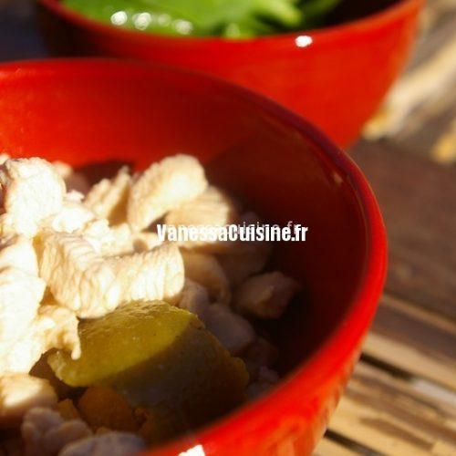 recette de poulet coco gingembre