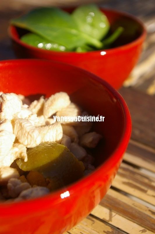 poulet coco gingembre