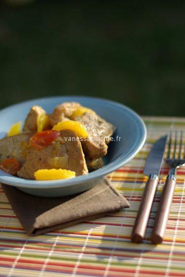 Recette de Sauté de veau aux agrumes
