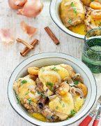 recette de Tajine de poulet aux abricots