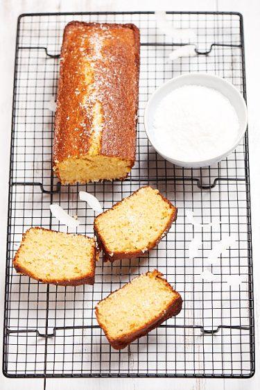recette de Cake à la noix de coco