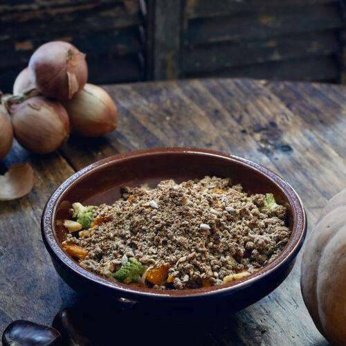 recette de Crumble de légumes d'hiver