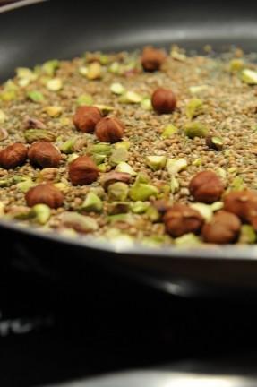 photo culinaire des graines et épices pour Dukkah