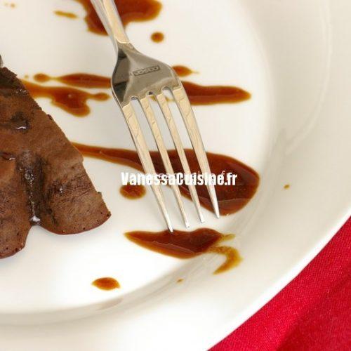 recette de moelleux au chocolat et chicorée au miel