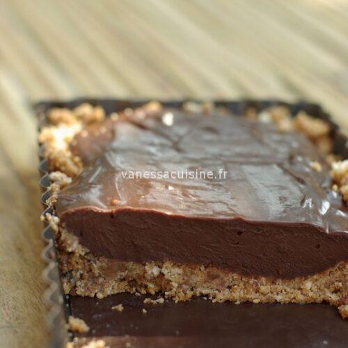 recette de Tarte au chocolat de Marc Lévy