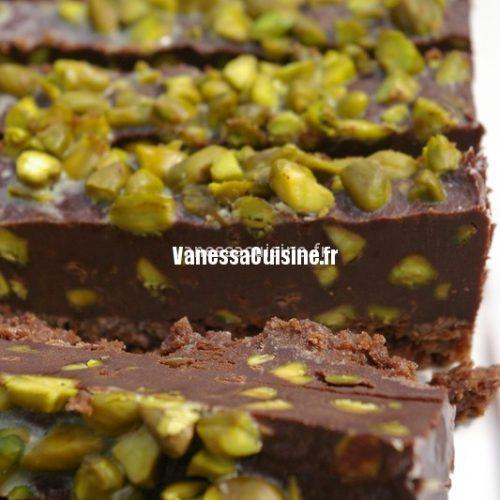 recette de Terrine très chocolatée à la pistache