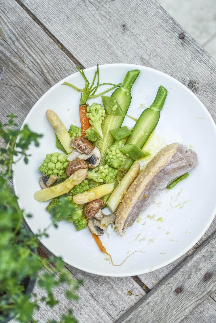 filet de canard legumes de printemps cedrat pho9247