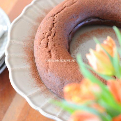 recette de Gâteau moelleux au chocolat et tofu soyeux