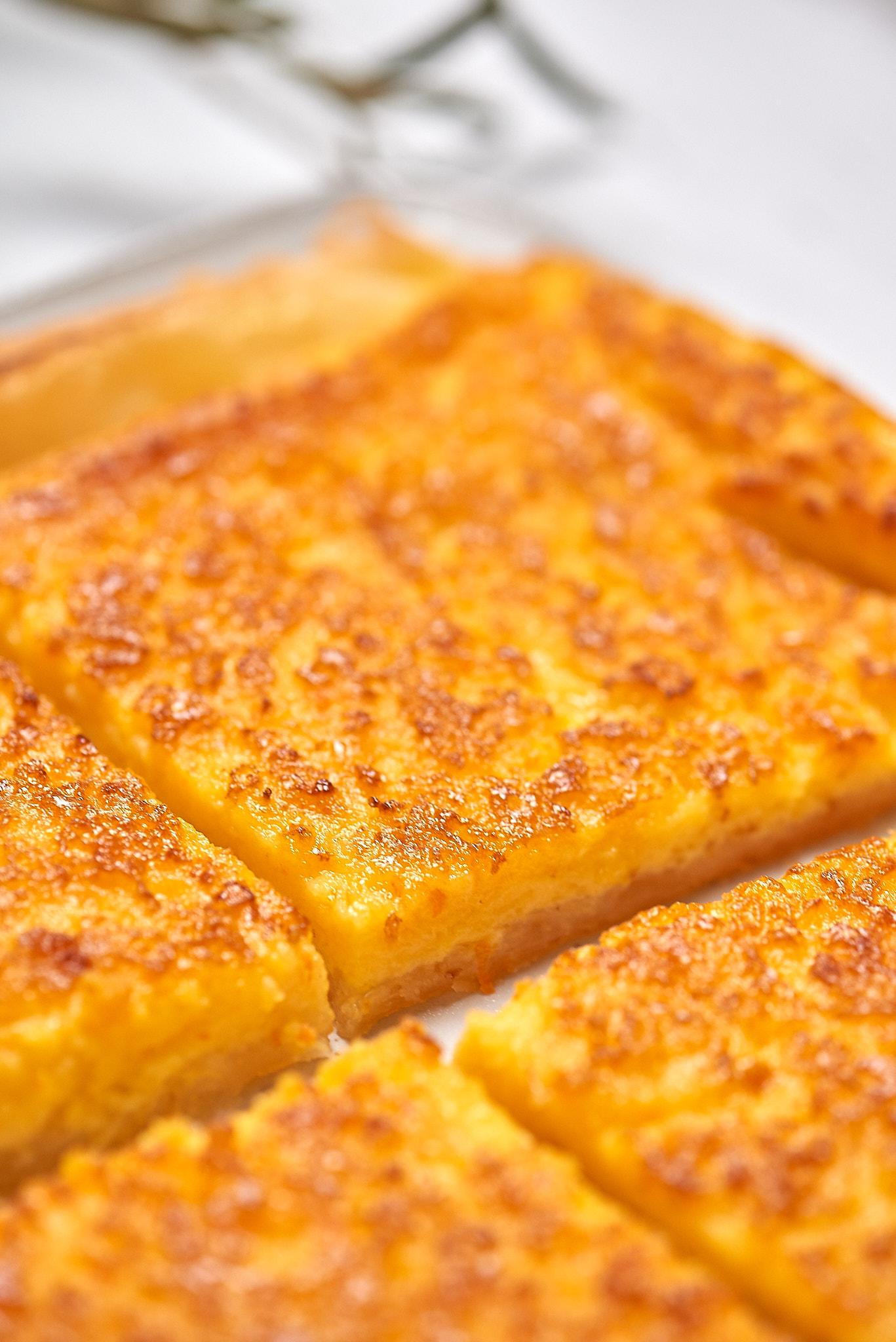 Photo culinaire de Tarte à l'orange