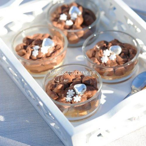 recette de Tarte amaretti express au chocolat au lait