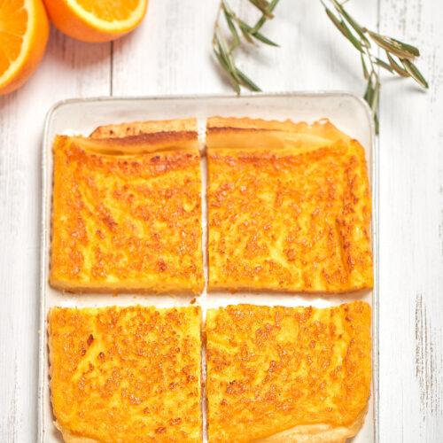 recette de Tarte à l'orange