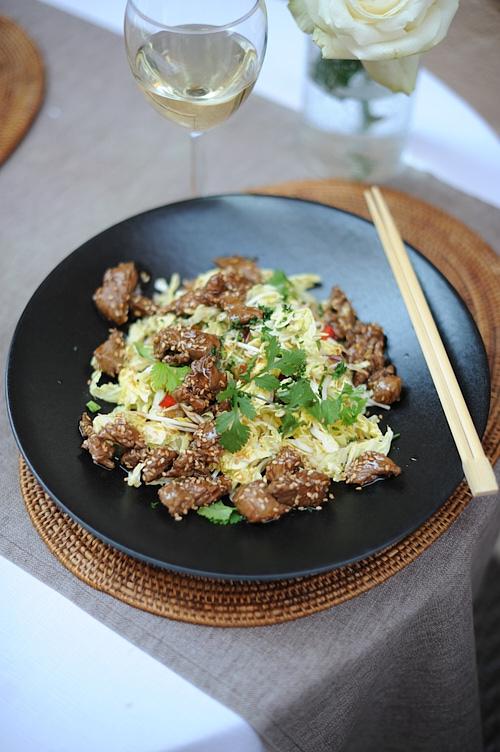 photo culinaire de Boeuf thaïe au Bahia