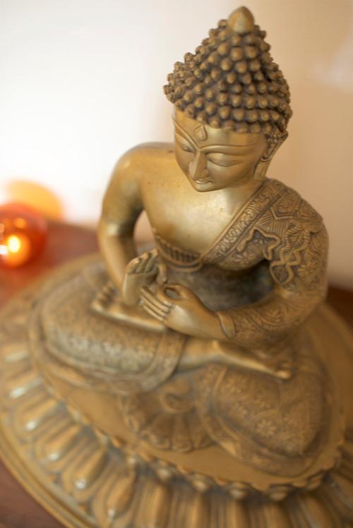 buddha at aum yoga