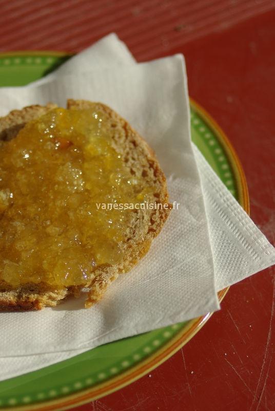 recette de confiture de bergamote