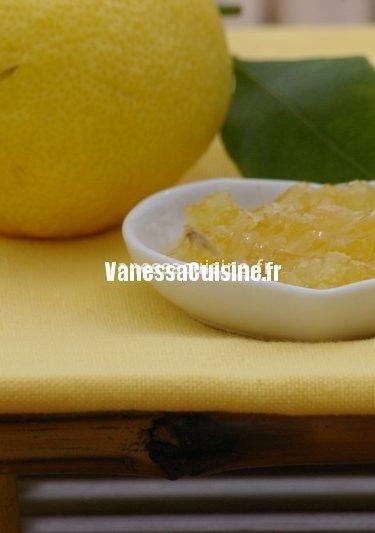 recette de Confiture de citron de Menton