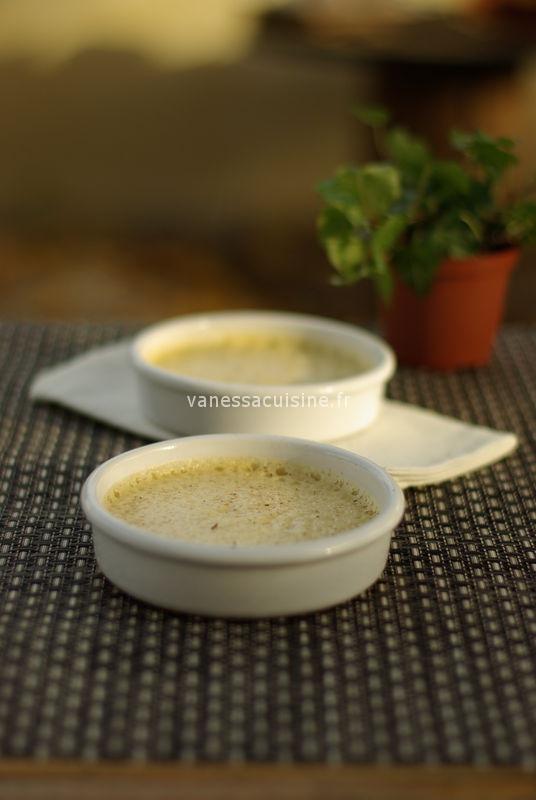 recette de Crème d'amande à la fève tonka