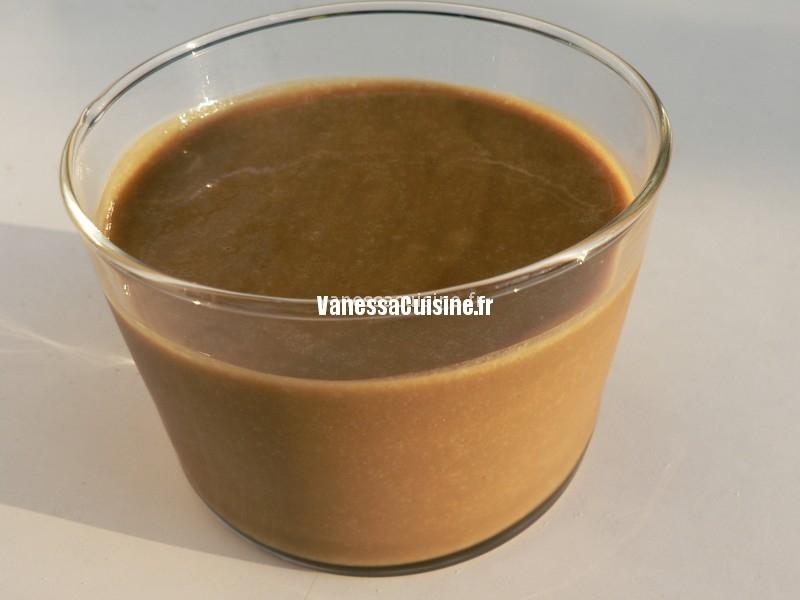 recette de Crème anglaise basilic et verveine, sucre intégral