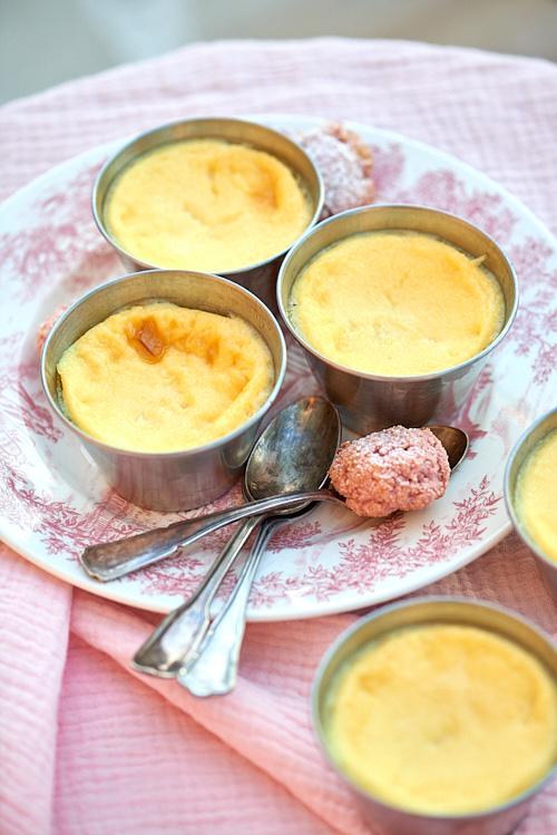 recette de Crèmes aux oeufs