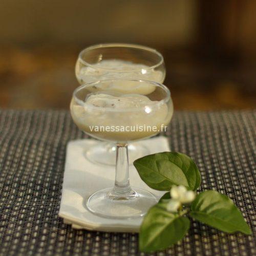 recette de crème soja à la vanille, ylang-ylang et fève tonka