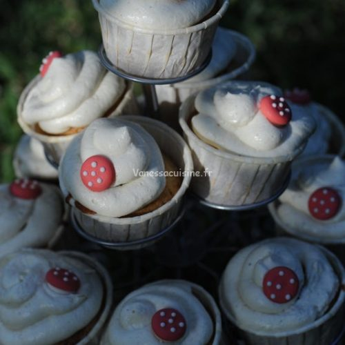 recettes de Cupcakes au creamcheese