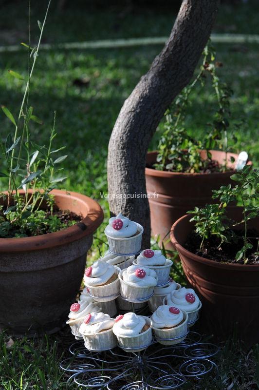 photo culinaire de cupcakes au creamcheese