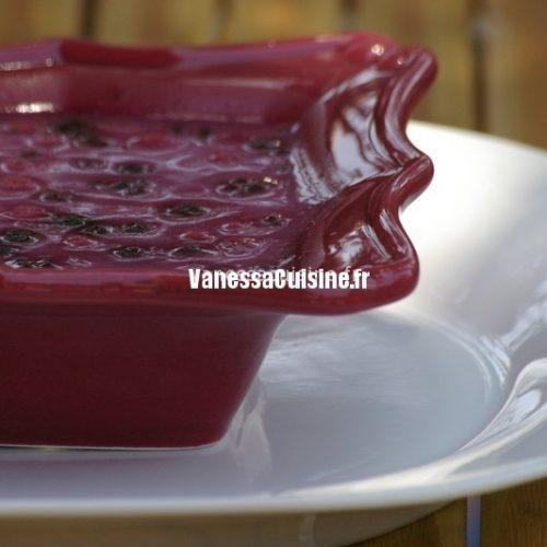 recette d'Entremet amandin aux fruits rouges