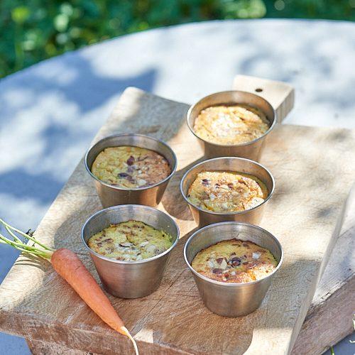recette de Flans aux carottes