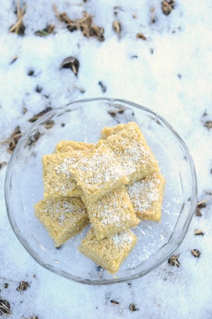 photo culinaire de flan coco au sucre complet