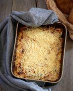 recette de Gratin de pommes de terre et jambon