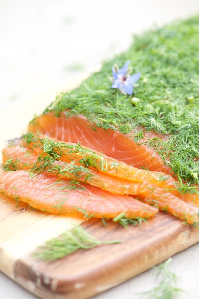 photo culinaire de Gravlaax de saumon