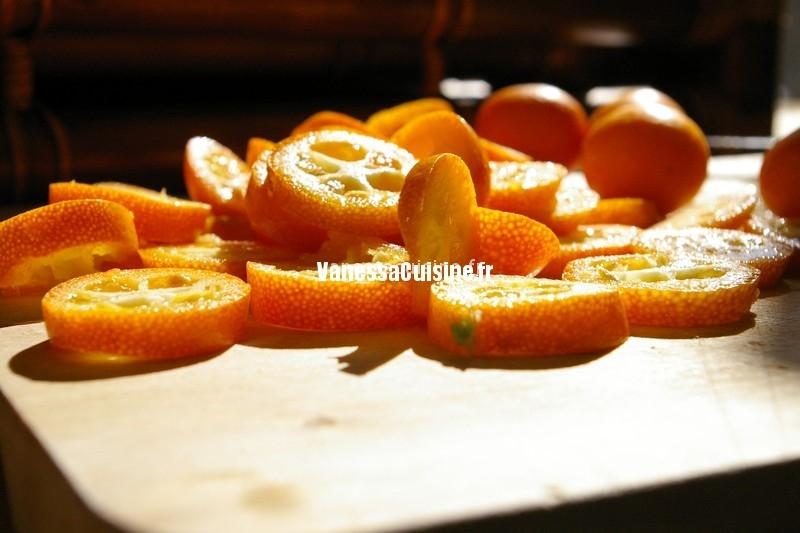photo culinaire de kumquats en tranches